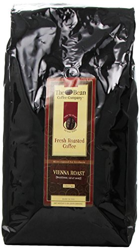 The Bean Coffee Company, Vienna Roast  Ground Coffee, 5-Pound Bags