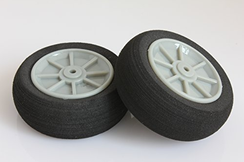 RC Plastic Core Sponge Wheels D50mm