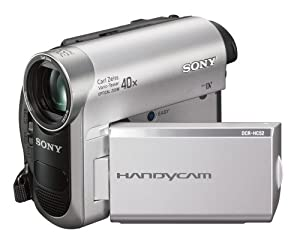 Sony DCR-HC52 MiniDV Handycam Camcorder with 40x Optical Zoom (Discontinued by Manufacturer)