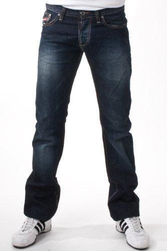 Clink men's Jeans Parkway JC6 dark blue VG, Weite:W34