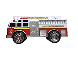 Switch Adapted Firetruck with Lights and Siren