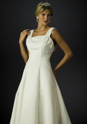 Wedding Dress Gown - Bridal Gown, Informal Bridal Gown, Ball gown by Sean Collection (B8022) Ivory