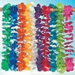 Mega Plastic Lei assortment (100 plas...
