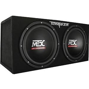 8. MTX Audio Terminator Series TNE212D 1200 Watt Dual 12