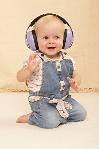 Baby Banz Earbanz Infant Hearing Protection Purple