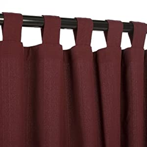 Amazon.com: Outdoor Curtains CUR108DW 54 in. x 108 in ...
