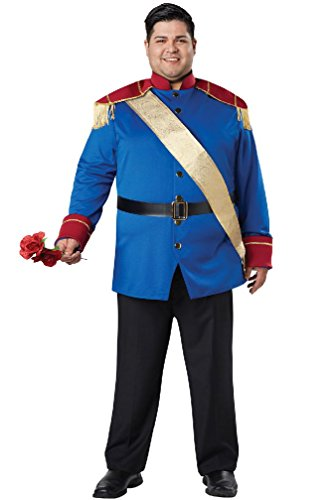 8eighteen Storybook Prince Charming Adult Plus Size Costume