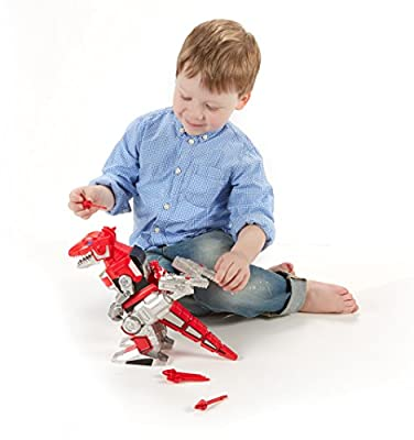 Fisher-Price Imaginext Power Rangers Red Ranger And T-Rex Zord from Fisher Price