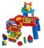 Mega Bloks First Builders 3-in-1 Build 'n' Learn Table