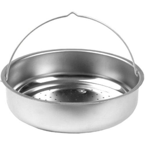 Seb 792654 Dünsteinsatz aus Edelstahl für Schnellkochtopf 8l, Ø 235 cm