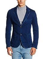 Tom Tailor Denim Americana Hombre (Azul Oscuro)