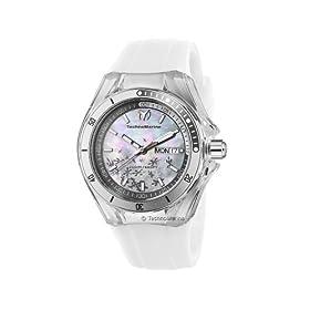 TechnoMarine Unisex 110060 Cruise Sport Snow 3 Hands MOP Dial Watch