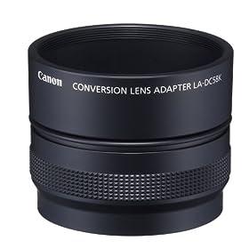 Canon LA-DC58K Conversion Lens Adapter for Canon G10 Digital Cameras