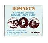 ROMNEY'S OF KENDAL Kendal Mint Cake White & Brown CHOCOLATE COVERED 395g / 13.93oz x1