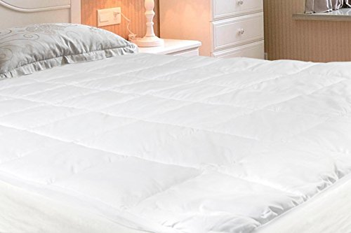 Why Should You Buy Duck & Goose Co Premium Quality Durable White Microfiber Mattress Pad, Hypoal...