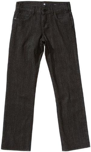 "DC Shoes - Jeans da bambino ""STR8 2 Denim"", Nero (Risciacquo BLK), 25"