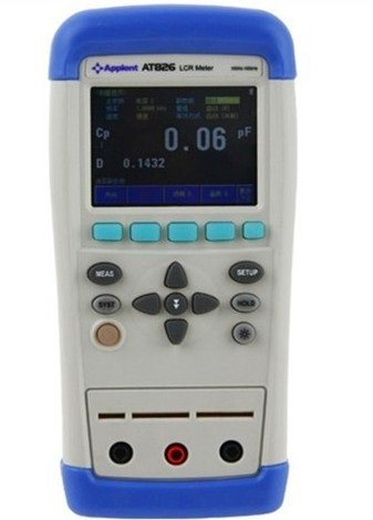 Gowe® Portable Handheld Hi-Accuracy Lcr Meter 100Khz Lcrqdz Theta Esr Tester Tft Lcd Touch Screen Usb Ac100-240V Li-Battery