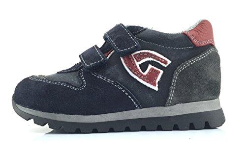 NERO GIARDINI junior sneakers basse strappo A623950M/200 (22)