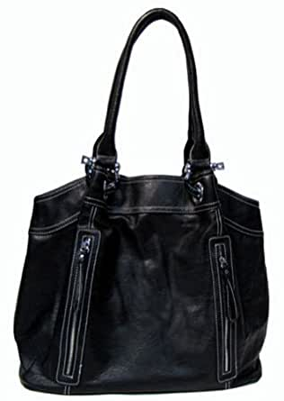 Purse Babe Women's tote shoulder bag with multiple ...