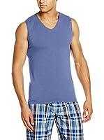 COTONELLA Look&Trend Camiseta sin mangas x 2 (Azul Claro)