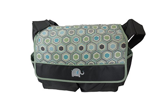 Graco Diaper Bag, Sonoma, Green And Grey front-899410