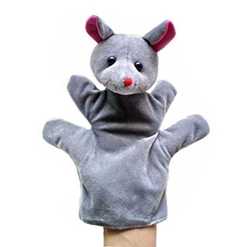 Mignon en peluche à la main Puppets Animal Friends main Puppets, souris