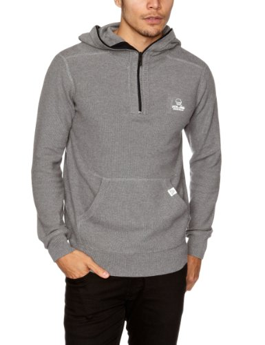 Jack and Jones Moises Hoodie Men's Jumper Grey Melange Small