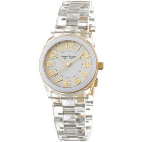 [エンジェルハート]Angel Heart 腕時計 ブラックレーベル ホワイト文字盤 アセテートケース アセテートベルト BK28WCL レディース