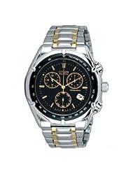 Citizen Eco-Drive Analog Black Dial Men's Watch BL7110-60E