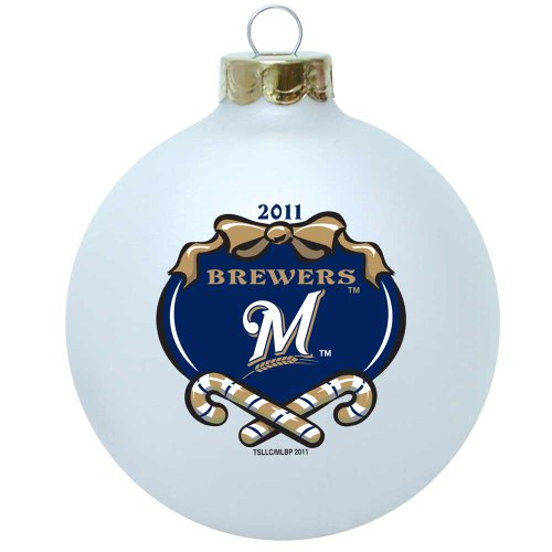 Milwaukee Brewers Bedroom In A Box Major League Baseball: Milwaukee Brewers Christmas Ornament, Christmas Brewers