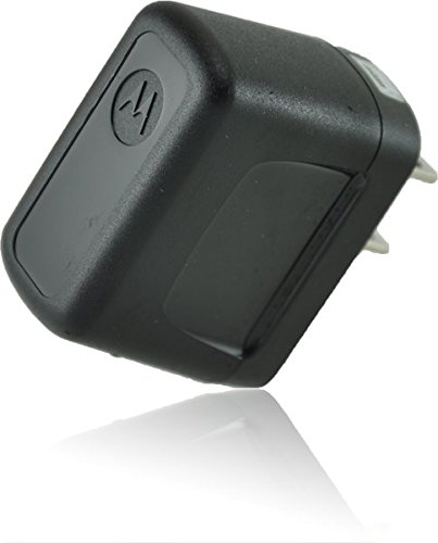 ECO Micromax X445 SmartPhone Micro-USB Home Travel Charger [110-240v]! (Black)
