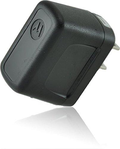 ECO Micromax X445 SmartPhone Micro-USB Home Travel Charger [110-240v]! (Black)