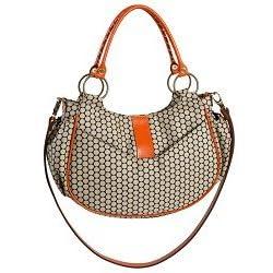 Mia Bossi - Alisa - Tangerine Diaper Bag