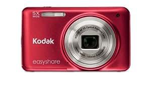 "Kodak EasyShare M 5350 M series, 16.4 MP, Compact, 1/0.0906 mm (1/2.3 ""), CCD, 4700 x 3498 Pixeles, 2048 x 1536, 2880 x 2160, 4608 x 2592, 4608 x 3072, 4608 x 3456"