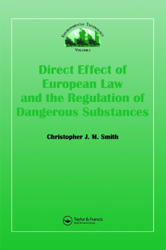 Direct Effect Of European Law (Environmental Technology)