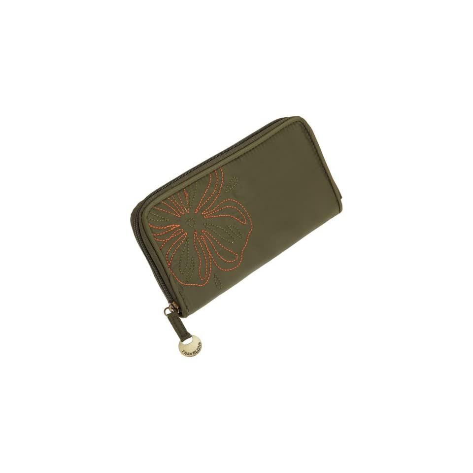 Travelon Rfid Wallet,Olive,One Size