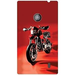 Nokia Lumia 520 Back Cover - Matte Finish Phone Cover