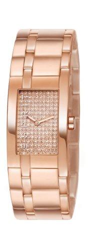 Esprit houston ES107042007 - Reloj analógico de cuarzo para mujer, correa de acero inoxidable chapado