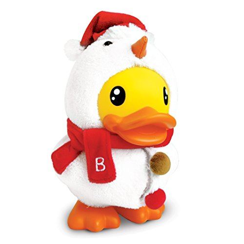 B.Duck Snowman Saving Bank, 29cm