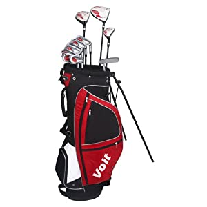 Buy Voit XP Mens GRAPHITE & STEEL Golf Club Set & Stand Bag by Voit