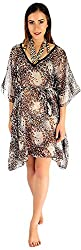 Holidae Women Animal Print Kaftan