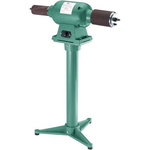 Grizzly G7120 Bench Grinder Stand (Universal Bench Grinder Stand compare prices)