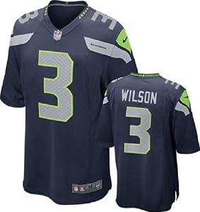 Russell Wilson Seattle Seahawks Home Jersey: by SGDJ