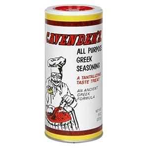 Cavender's All Purpose Greek Seasoning 8 oz