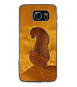 Cheetah 2D Hard Polycarbonate Designer Back Case Cover for Samsung Galaxy S6 Edge+ :: Samsung Galaxy S6 Edge Plus :: Samsung Galaxy S6 Edge+ G928G :: Samsung Galaxy S6 Edge+ G928F G928T G928A G928I