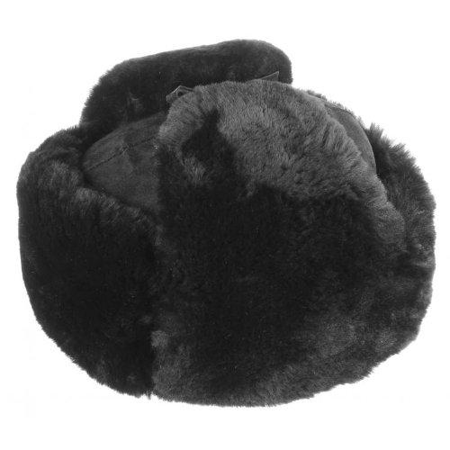 Pelzmütze Schiwago (XL/60-61 - schwarz)