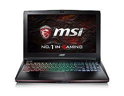 MSI GE62VR 6RF Apache Pro 15.6 Gaming Laptop (Core-i7 6th Gen/ DDR4 16GB/1TB (SATA) 7200rpm+128GB SSD (M.2 SATA)/Nvidia Geforce GTX 1060, 6GB GDDR5/Window10) with Laptop Bag
