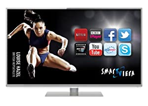 Panasonic TX-L47DT50B 47-inch Widescreen Full HD 1080p 3D LED TV with Freeview HD Freesat HD and Smart VIERA - Silver (discontinued by manufacturer)
