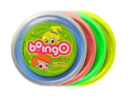 Boingo Incredible Bouncing Play Dough (Pack of Four)