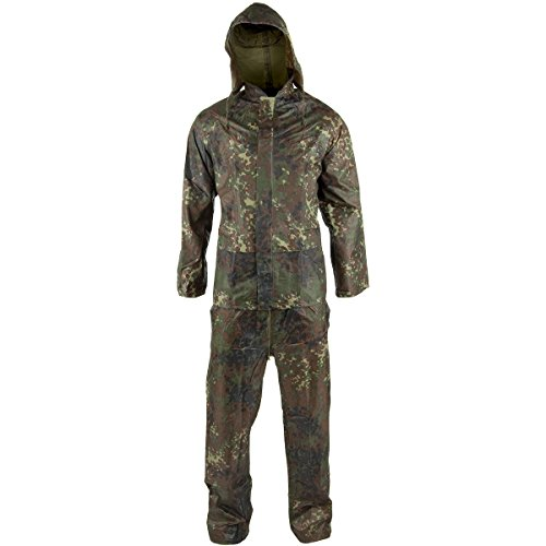 Waterproof jacket trousers suit hooded mens rain set for Mens fishing rain gear